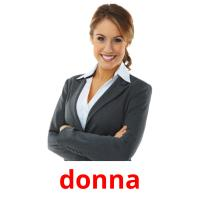 donna picture flashcards