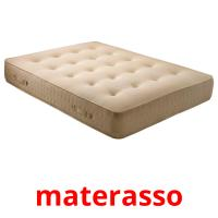materasso picture flashcards