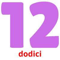 dodici picture flashcards