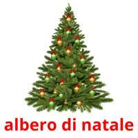 albero di natale picture flashcards