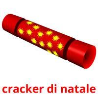 cracker di natale picture flashcards