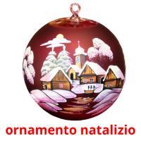 ornamento natalizio picture flashcards