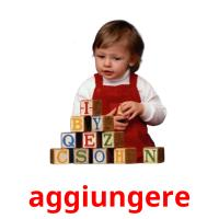 aggiungere picture flashcards