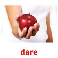dare picture flashcards