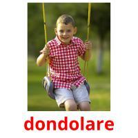 dondolare picture flashcards