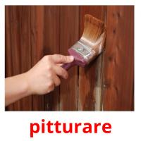 pitturare picture flashcards