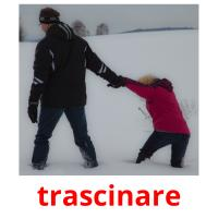 trascinare picture flashcards
