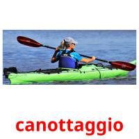 canottaggio picture flashcards
