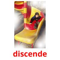 discende picture flashcards
