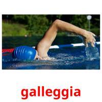 galleggia picture flashcards