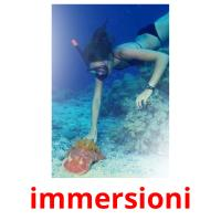 immersioni picture flashcards