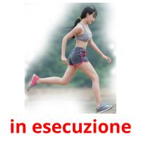in esecuzione picture flashcards