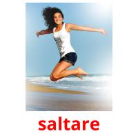 saltare picture flashcards