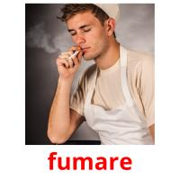 fumare picture flashcards