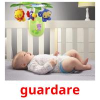 guardare picture flashcards