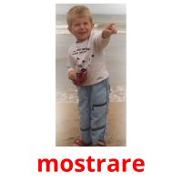 mostrare picture flashcards