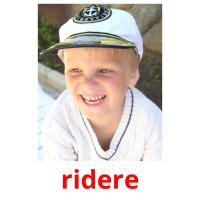 ridere picture flashcards