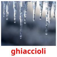 ghiaccioli picture flashcards