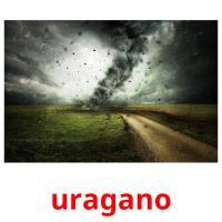 uragano picture flashcards