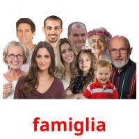 famiglia picture flashcards