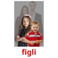figli picture flashcards