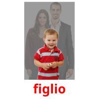 figlio picture flashcards
