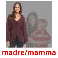 madre/mamma picture flashcards