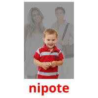 nipote picture flashcards