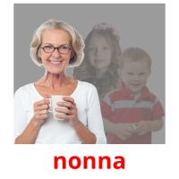 nonna picture flashcards