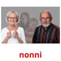 nonni picture flashcards