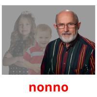 nonno picture flashcards