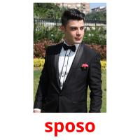 sposo picture flashcards