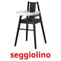 seggiolino picture flashcards