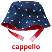cappello picture flashcards