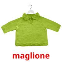 maglione picture flashcards
