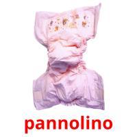 pannolino picture flashcards