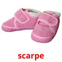 scarpe picture flashcards