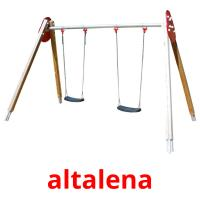 altalena picture flashcards