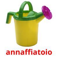 annaffiatoio picture flashcards