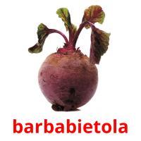 barbabietola picture flashcards