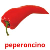 peperoncino card for translate