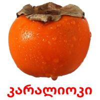 კარალიოკი picture flashcards