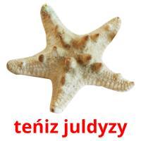 teńіz juldyzy picture flashcards
