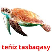 teńіz tasbaqasy picture flashcards