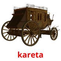 kareta picture flashcards