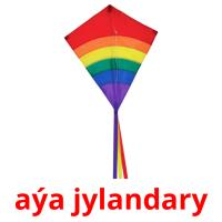 aýa jylandary picture flashcards