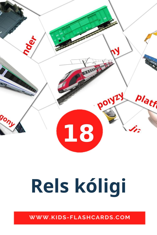 18 Rels kólіgі Picture Cards for Kindergarden in kazakh(latin)