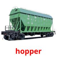 hopper picture flashcards