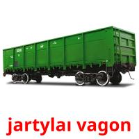 jartylaı vagon picture flashcards