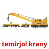 temіrjol krany picture flashcards